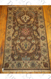 Brown Carmel Soumak (3'x5')