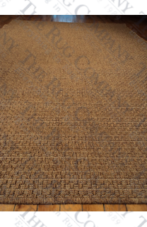 "Basket Weave Sea Grass Look (7'3""x10'6"")"