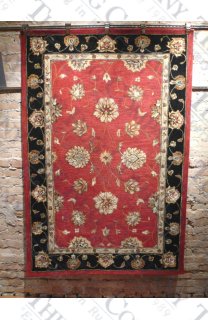 Jewel Red Black (4'x6')