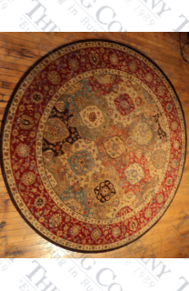 "Treasures Multi Panel (5'10"" round)"