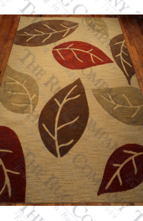 Wool Custom High/Low Leaves (5'x8')