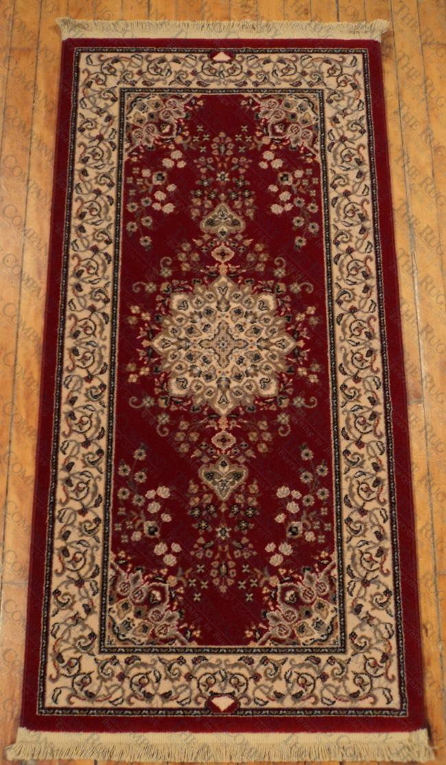 "Royalty Red Medallion (2'2""x4'7"")"