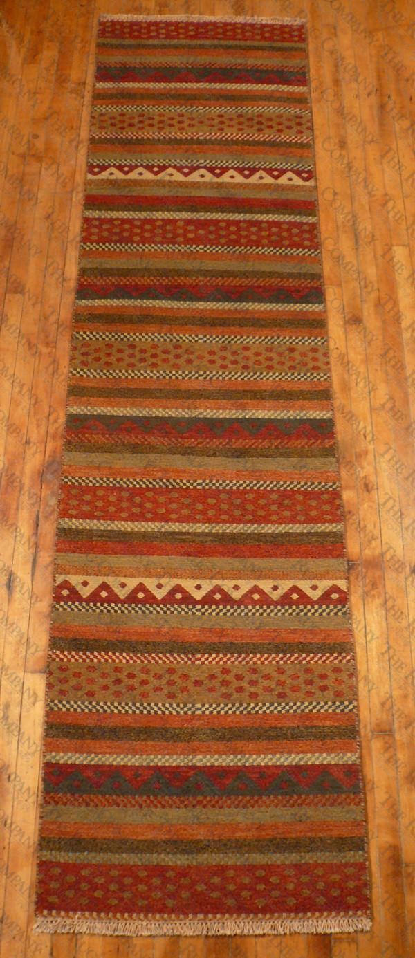 "Sumak Multi Stripe (2'6""x10')"