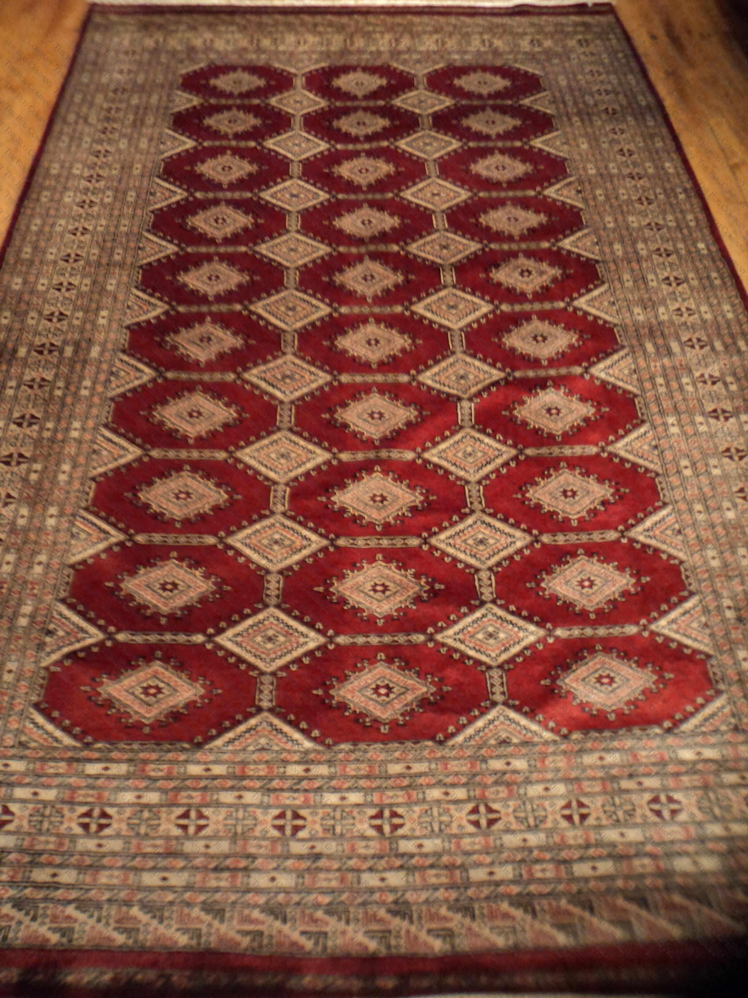 Jaldar multi panel rusty red 6 39 x9 39 the rug company for The rug company rugs