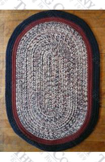 Calico Navy Tweed (2'x3' oval)