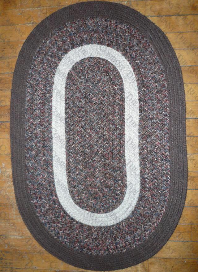Calico Brown Tweed (2'x3' oval)